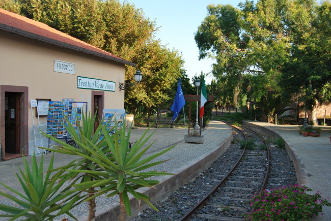 トレニーノ・ヴェルデ(サルデーニャ鉄道)での旅
