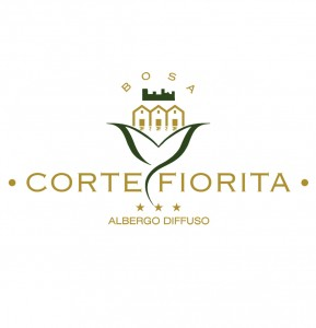 Corte fiorita logo