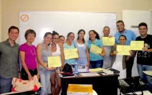 Cristina Gervasi con la sua Classe